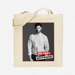 Tote Bag Mr Grey is my boyfriend