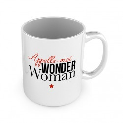MUG Appelle moi wonder woman