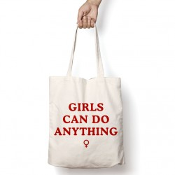 Tote Bag Girls can do anything
