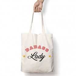 Tote Bag Badass Lady