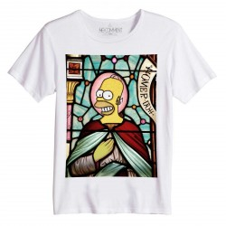 T-Shirt coton bio SIMPSON CHURCH - No Comment Paris - Homme