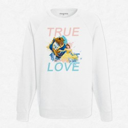 Sweat Blanc Disney - True Love