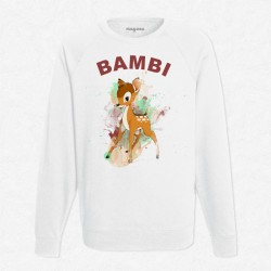 Sweat Blanc Disney - Bambi