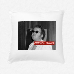 Coussin Coluche - French Swag
