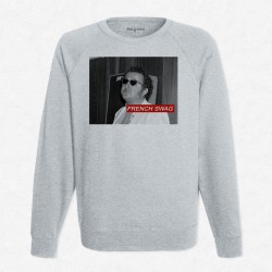 Sweat Gris Coluche - French Swag