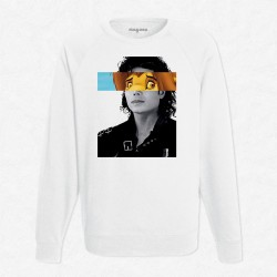 Sweat Blanc Le roi Lion - Michael Jackson