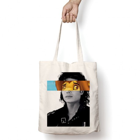 Tote Bag Le roi Lion - Michael Jackson