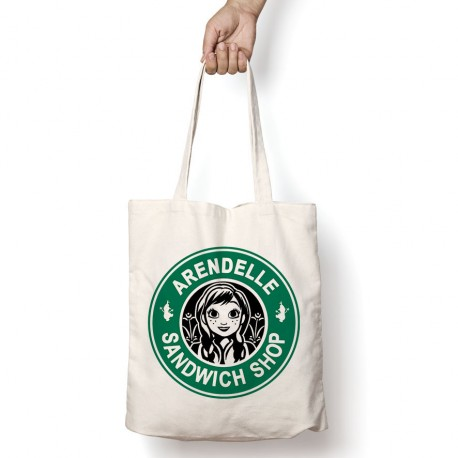 Tote Bag StarCoffee - Anna d'Arendelle