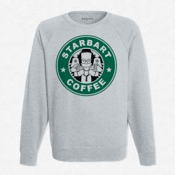 Sweat Gris StarCoffee - Bart Simpson