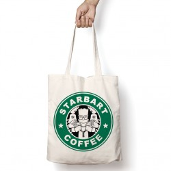 Tote Bag StarCoffee - Bart Simpson