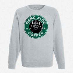 Sweat Gris StarCoffee - Dark Vador