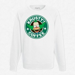 Sweat Blanc StarCoffee - Krusty
