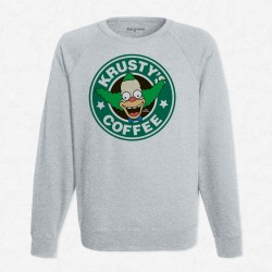 Sweat Gris StarCoffee - Krusty
