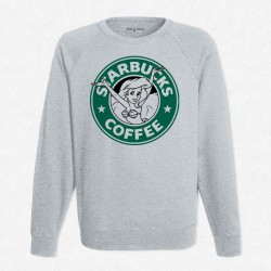Sweat Gris StarCoffee - Ariel