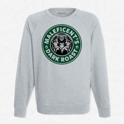 Sweat Gris StarCoffee - Maleficient