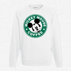 Sweat Blanc StarCoffee - Mickey
