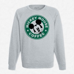 Sweat Gris StarCoffee - Mickey