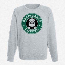 Sweat Gris StarCoffee - Minion