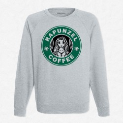 Sweat Gris StarCoffee - Raiponce