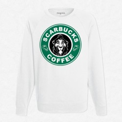 Sweat Blanc StarCoffee - Scar