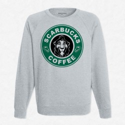 Sweat Gris StarCoffee - Scar