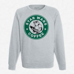 Sweat Gris StarCoffee - Stormtrooper