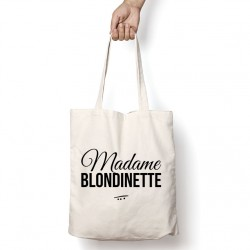 Tote Bag Madame blondinette
