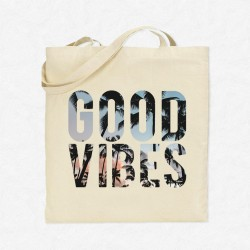 Tote Bag Vacances Good Vibes