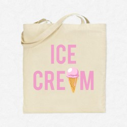 Tote Bag Vacances Ice Cream