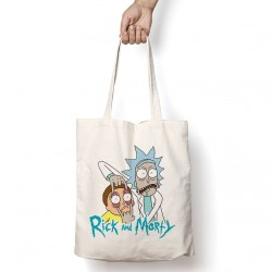 Tote Bag Rick and Morty