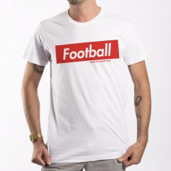 T-Shirt Like Supreme Football Mondial 2018