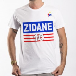 T-Shirt Zidane France foot Mondial