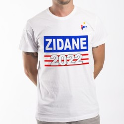 T-Shirt Zidane 2022 France foot Mondial