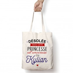 Tote Bag Amoureuse de Kylian