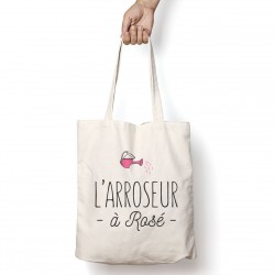 Tote Bag Arroseur à rosé