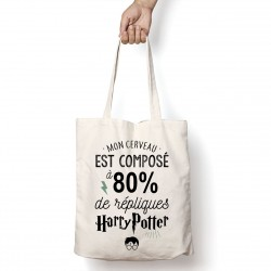 Tote Bag 80% Harry Potter