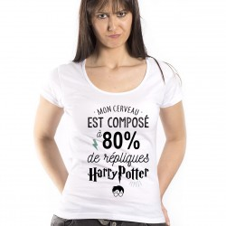 T-Shirt 80% Harry Potter