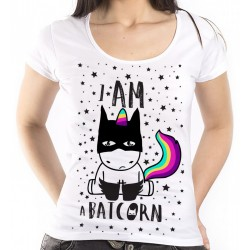 T-Shirt Bio Licorne Batman Batcorn