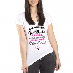 T-Shirt Temps de gentillesse