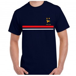 T-Shirt France 2 étoiles Mondial foot 1998 - 2018 non officiel