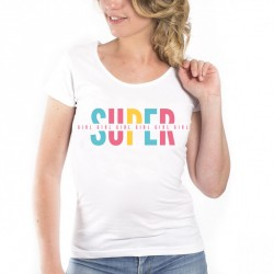 T-Shirt Super girl