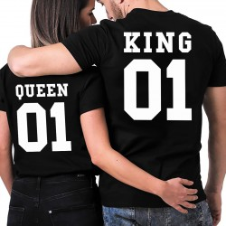 T-Shirt KING & QUEEN