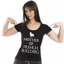 T-Shirt Mother of French Bulldog