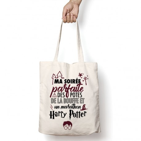 Tote Bag Marathon Harry Potter