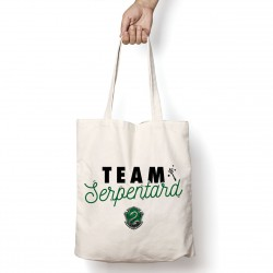 Tote Bag Team serpentard