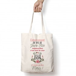Tote Bag Faites un don