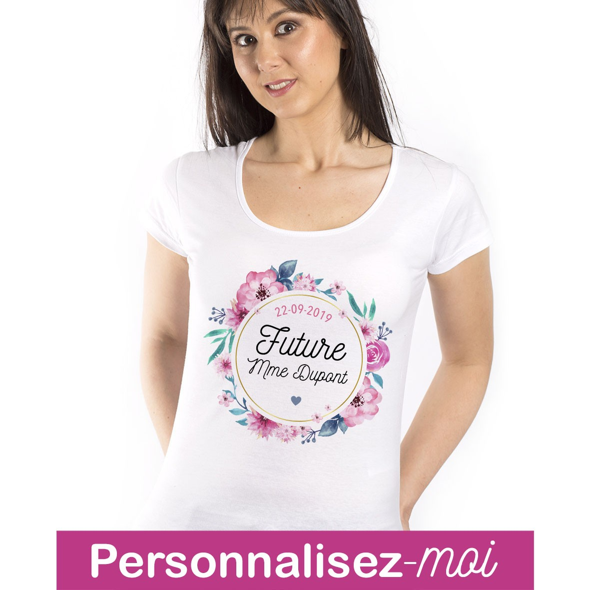 T Shirt Future Mme Personnalisable Mayooo T Shirts Et Accesoires Cool Pour Gens Cool