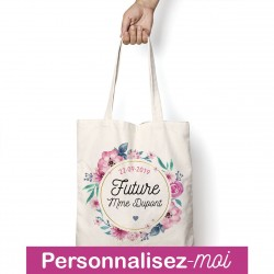 Tote Bag Future Mme Personnalisable